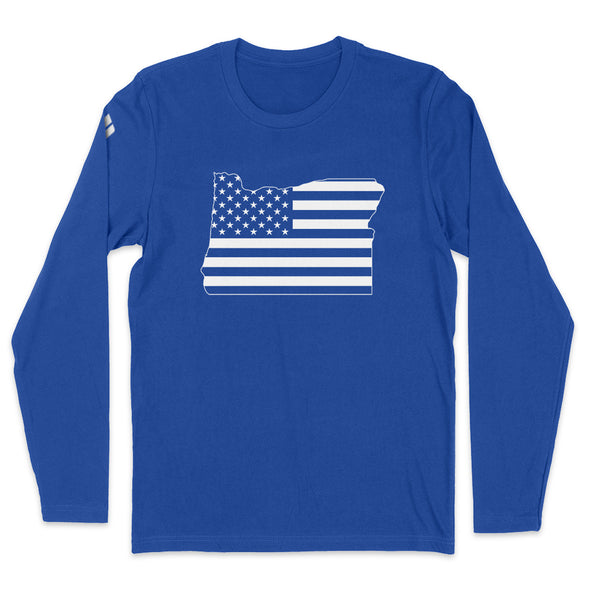Oregon USA Flag Mens Apparel
