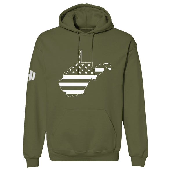 West Virginia USA Flag Hoodie