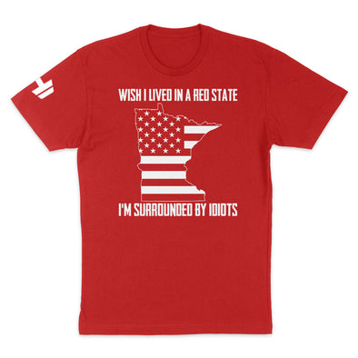 Wish I Lived In A Red State - Minnesota Mens Apparel
