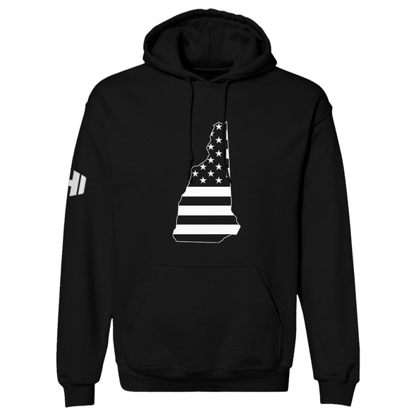 New Hampshire USA Flag Hoodie