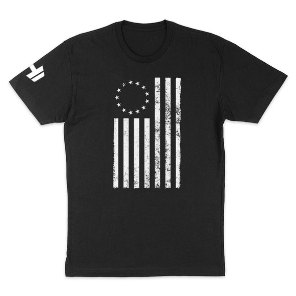 Betsy Ross Distressed White Mens Apparel