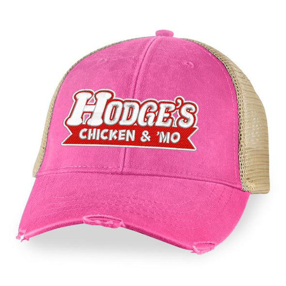 Hodges Chicken Text Trucker Hat