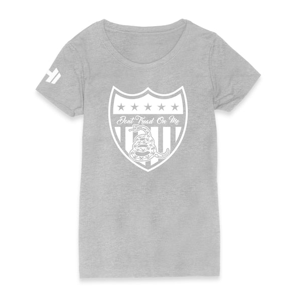 Don't Tread On Me Shield Womens Apparel