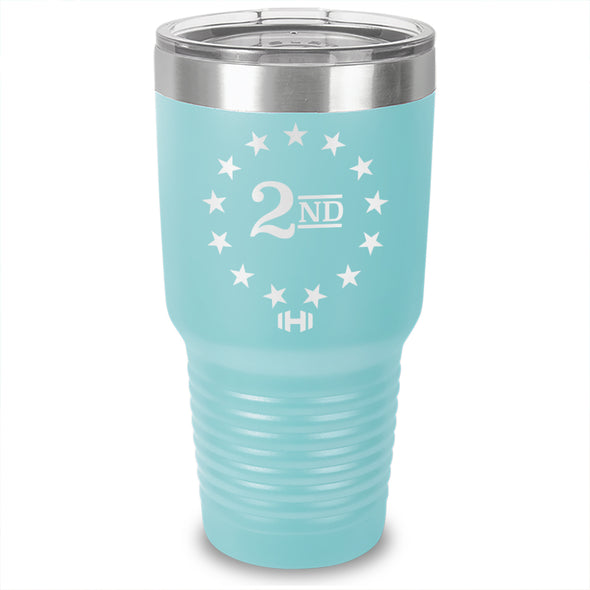 2nd Amendment Betsy Ross Laser Etched Tumbler