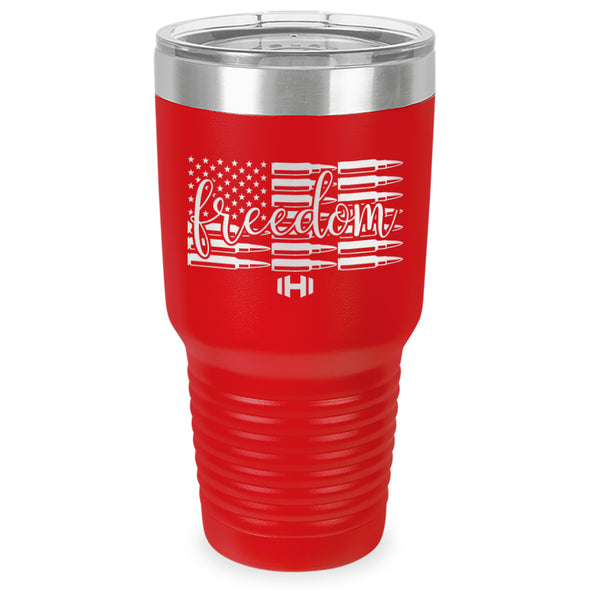 Freedom Bullets Laser Etched Tumbler