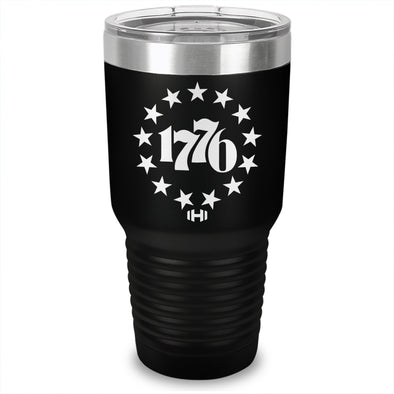 Betsy Ross 1776 Laser Etched Tumbler