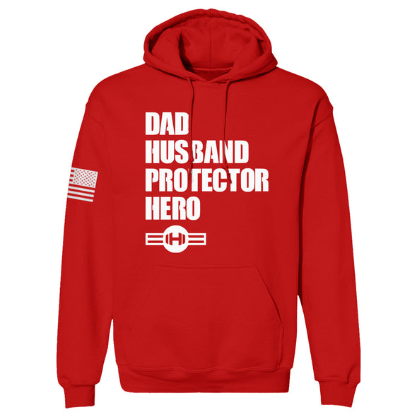 Dad Husband Protector Hero Hoodie