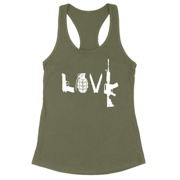 LOVE Weapons Womens Apparel
