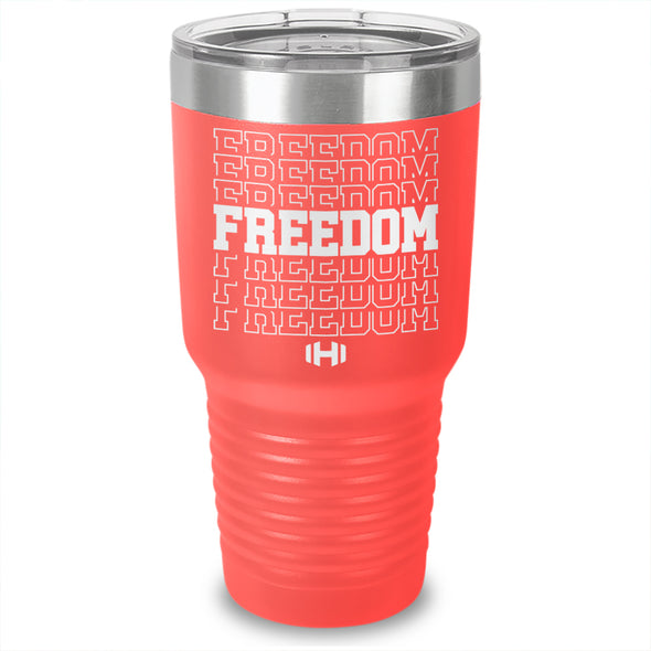 Freedom Laser Etched Tumbler