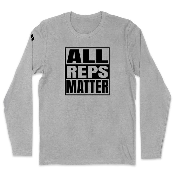 All Reps Matter Black Print Mens Apparel