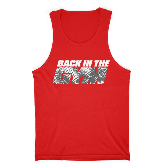 Back In The Gym Mens Apparel
