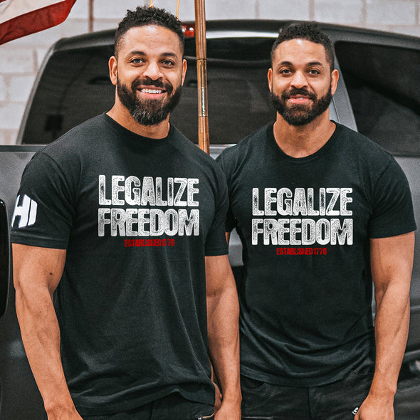 Legalize Freedom Mens Apparel