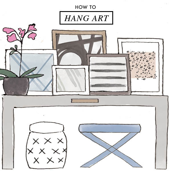 how-to-hang-art
