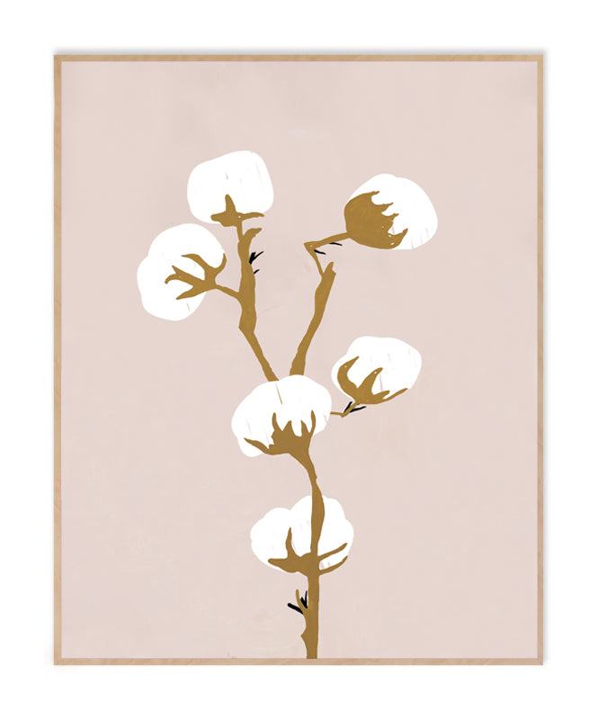 Cotton Bulbs 2 Art Print