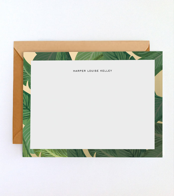 Beverly Hills Palms Custom Stationery Set