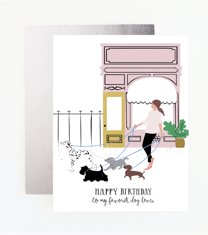 Dog Lover Card