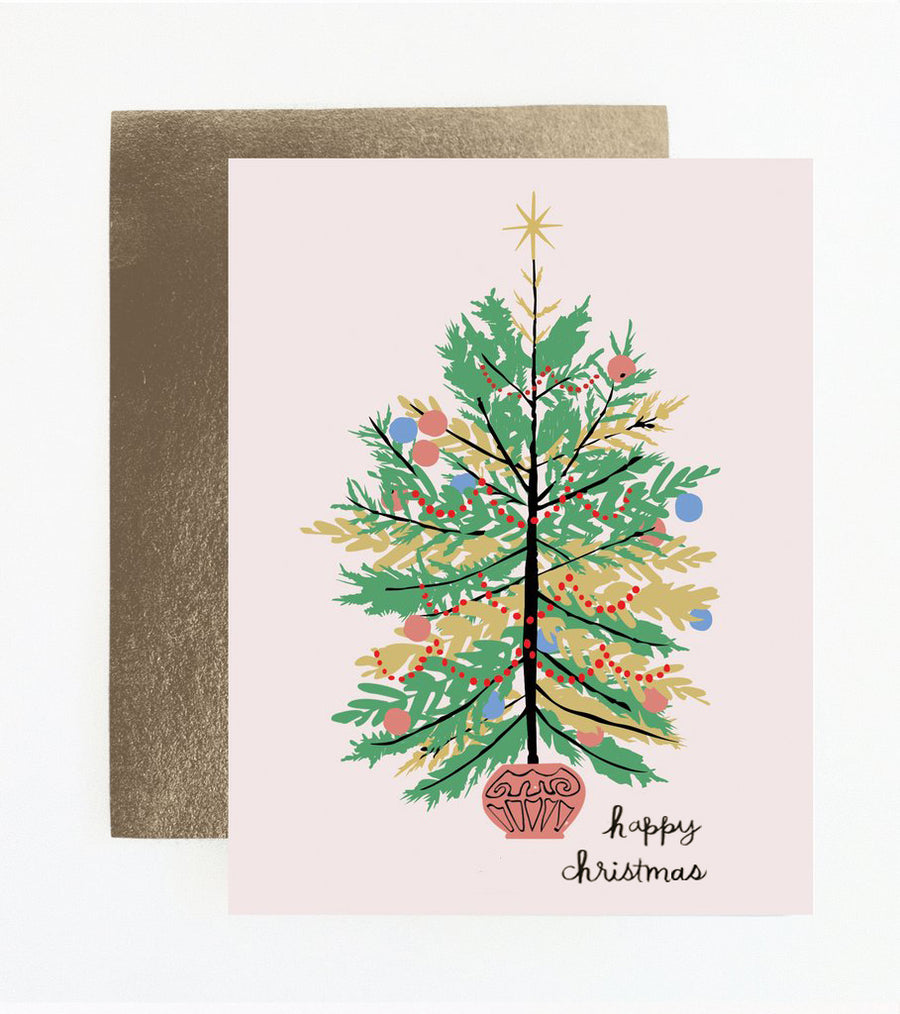 Oh Christmas Tree Holiday Card
