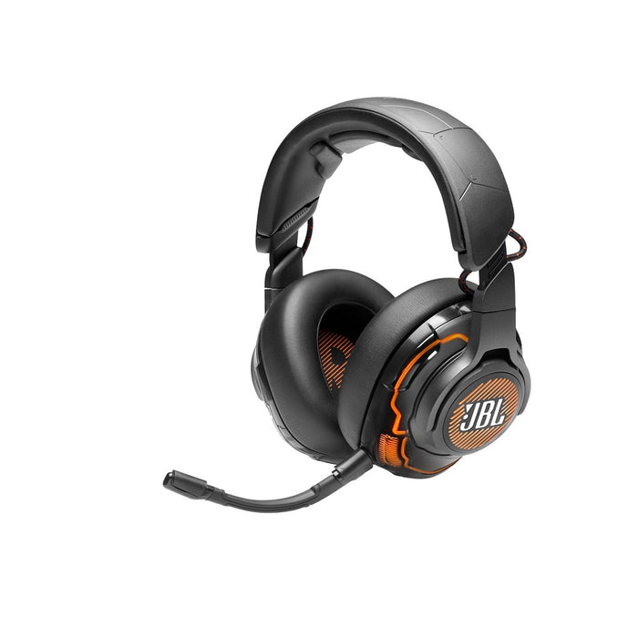 JBL Quantum ONE | Casque de jeu circum-auriculaire - Suppression du bruit  - USB - Noir