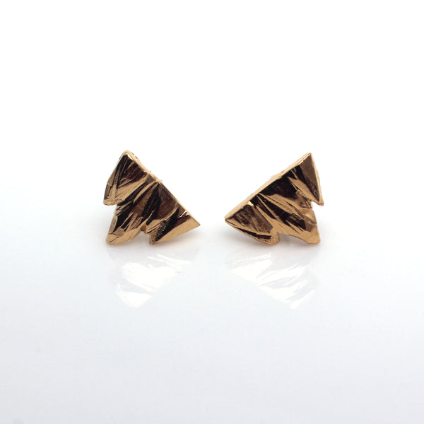 Mountain Studs Gold