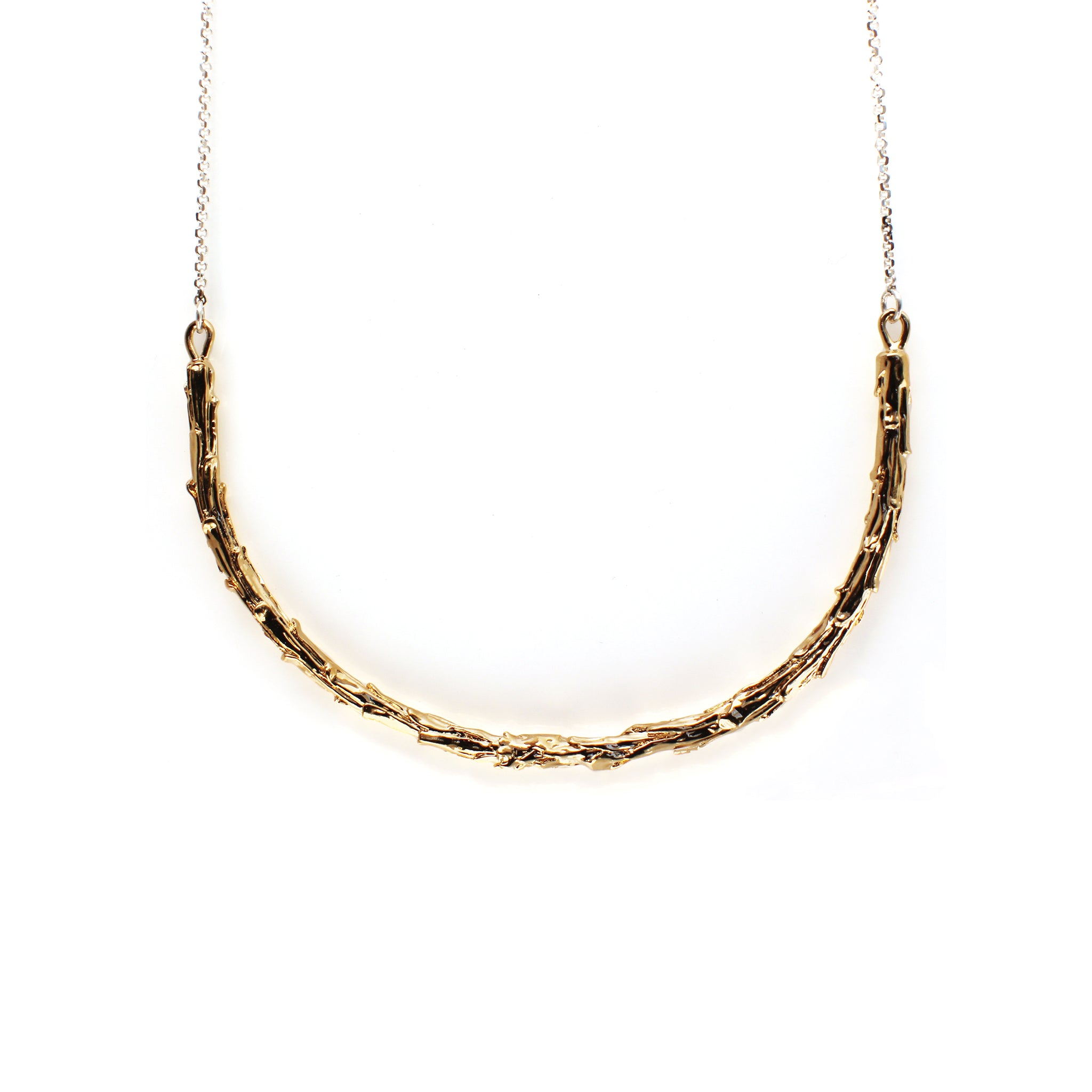 Redwood Necklace Gold