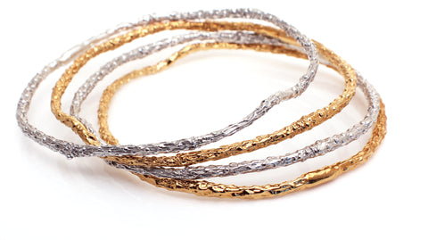 Twig Bangle Gold