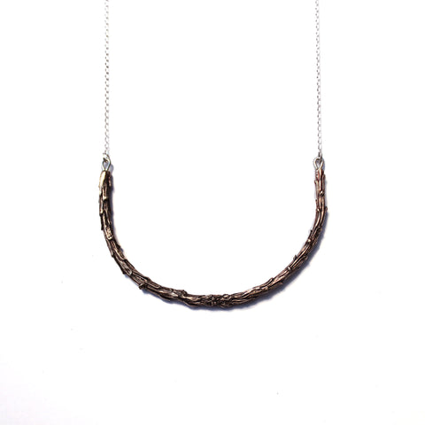 Redwood Necklace Bronze