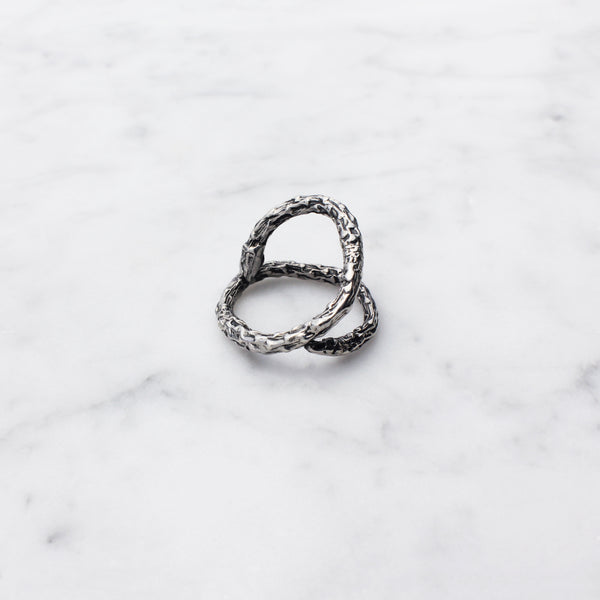 Twig Open Ring Silver