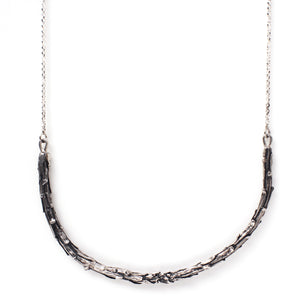 Redwood Necklace Silver