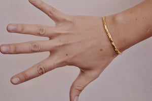 Gold Redwood Twig Cuff