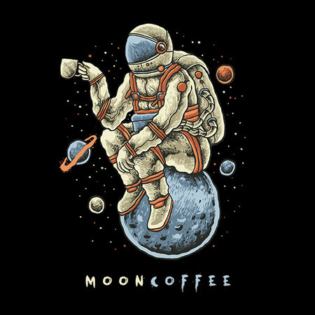 Camiseta Moon Coffee