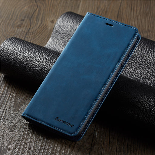 Leather Magnetic Flip Cover for all I Phone Xs Xr X 11 with Wallet Card Holder
