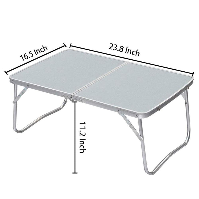 Folding Laptop Table Breakfast - Bed Serving Tray Portable Mini Desk