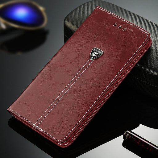 Leather Flip Phone Case For iPhone 11 Pro Max 7 6 Plus Wallet Card Slots Cases Cover For iPhone X XS Max XR 8 Plus