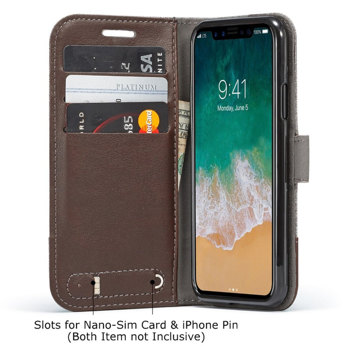 Fashion Flip Case and  Wallet Cover For iPhone 7 8  X  5 5s 6 6s Plus