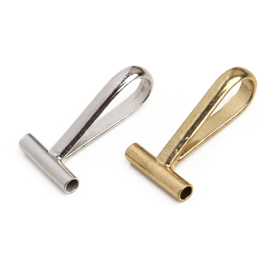 Pin to Pendant Converters | Horizontal | Stainless Steel | Set of 2