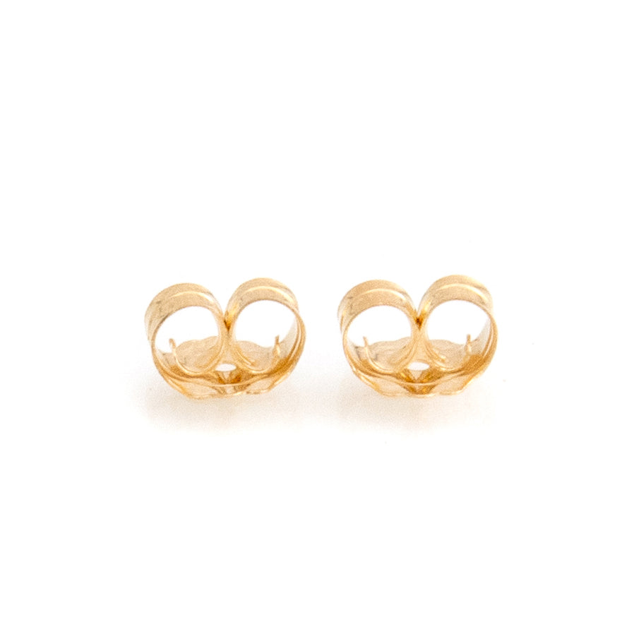 Butterfly Earring Backs | 14k Gold