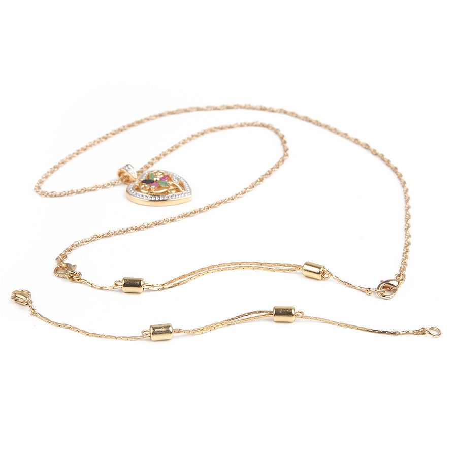 Necklace Extender | 22k Gold Plated Stainless Steel | Adjustable 3.5 to 6 inches