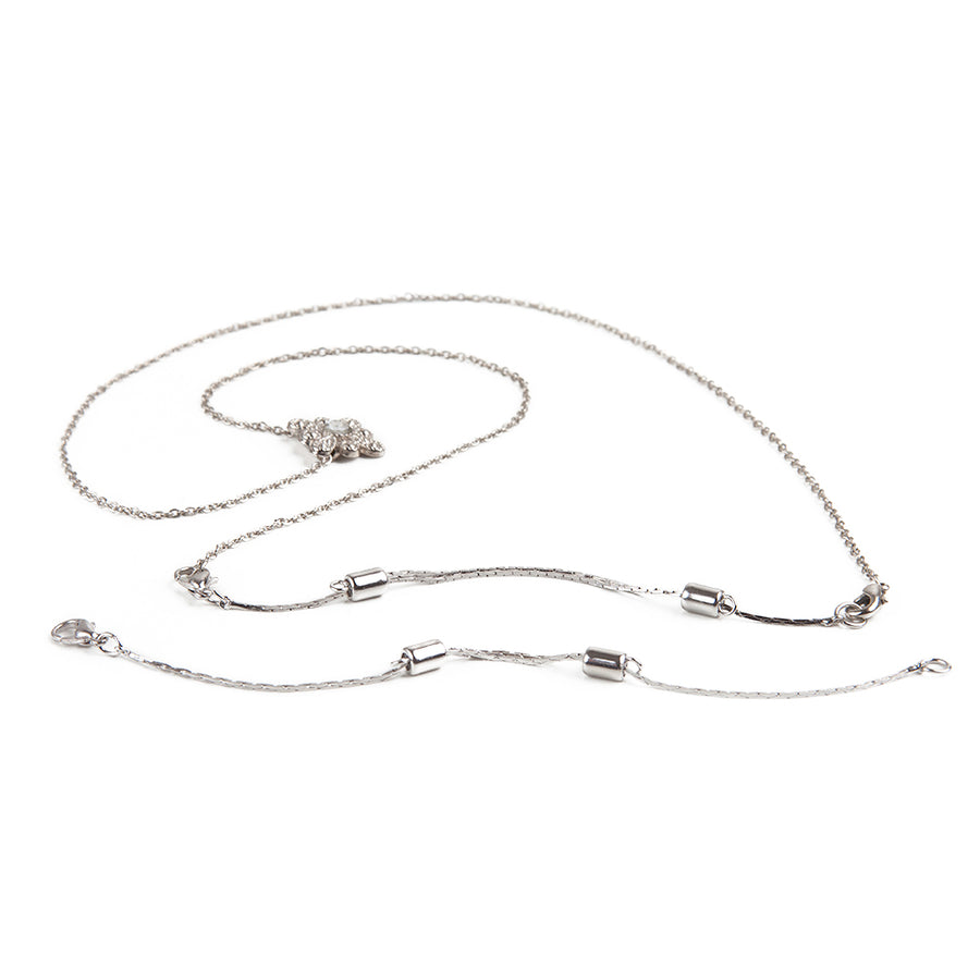 Wholesale | Necklace Extender | Silver Adjustable Extender | 3.5 to 6 inches | 1 Piece