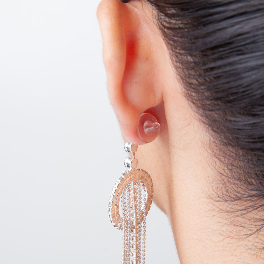 Plastic Earrings Backs | Clear Support Discs | Clear Diskies 2 | 5 Pairs