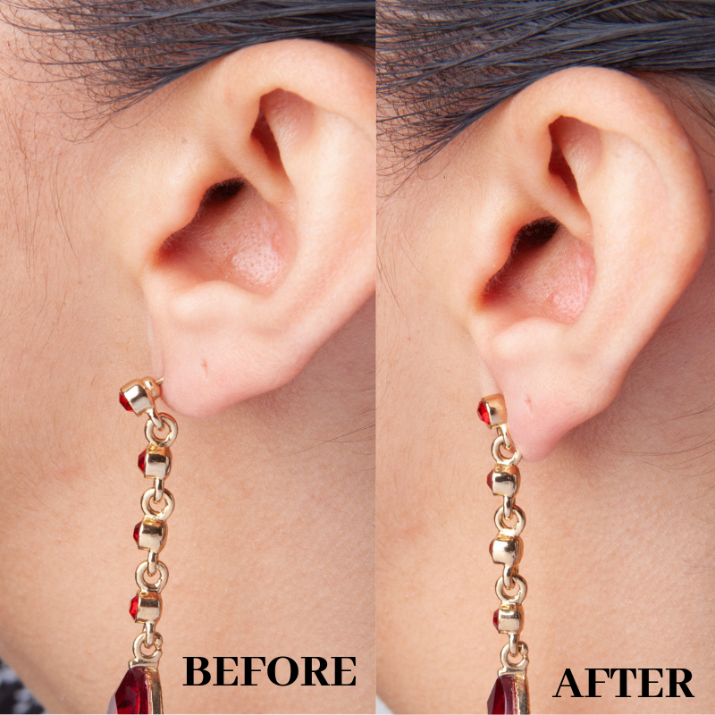 Earring Back Support | Fish Hook Wire Stabilizer Disc