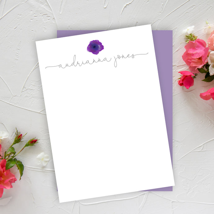 Purple Pansy Notes