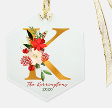 Load image into Gallery viewer, Christmas Monogram Ornament