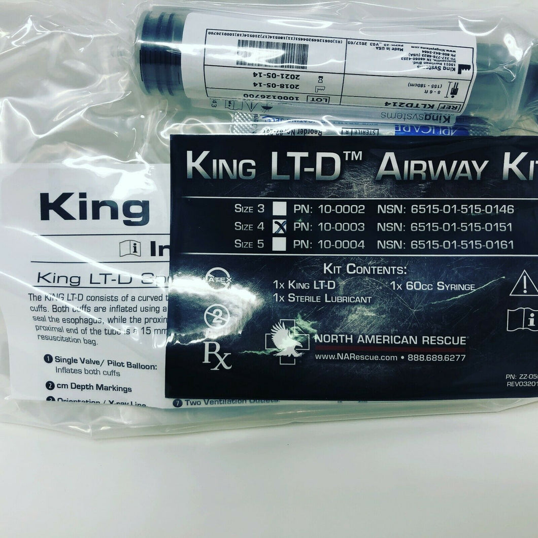 North American Rescue KING LT-D Airway Kit