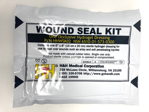 Lot of 2 H&H Wound Seal Kit #HHWSK02