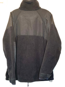 Black Polartec Military Fleece Jacket