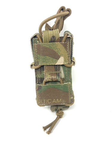 TYR Tactical MP Combat Adjustable Pistol Happy Mag Pouch, Multicam