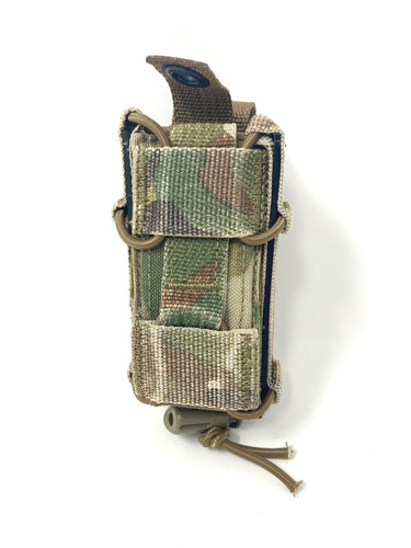 TYR Tactical MP Combat Adjustable Pistol Happy Mag Pouch- No Top Bungee Cords