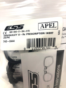 ESS/Oakley U-RX Prescription Insert