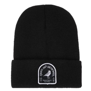 Beanie - Crow Logo Patch