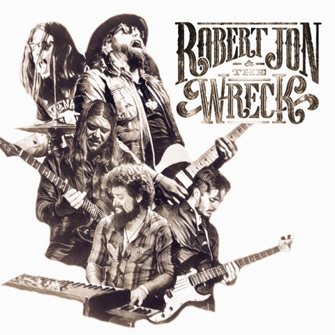 "Vinyl - ""Robert Jon & The Wreck"" 12"" LP"